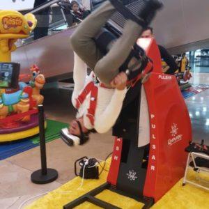 Achterbahnsimulator Whiplash Chair