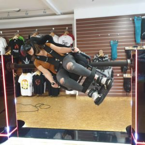 VR Achterbahnsimulator Whiplash Diabolo