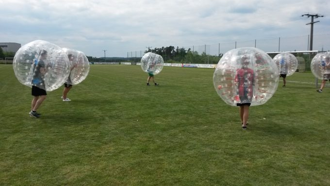 Fussball Zorb
