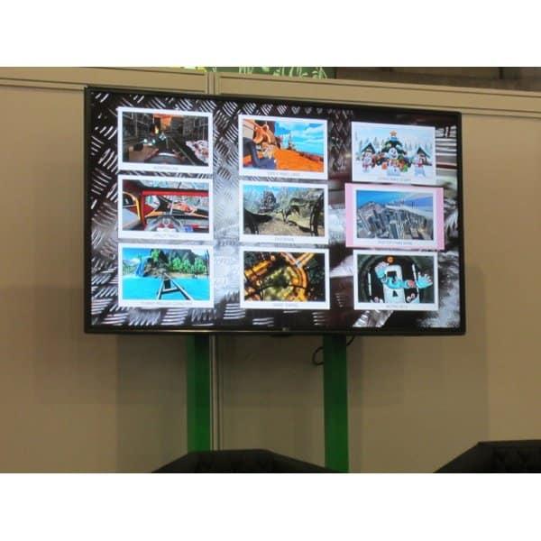Achterbahn Simulator verschiedene Welten erleben