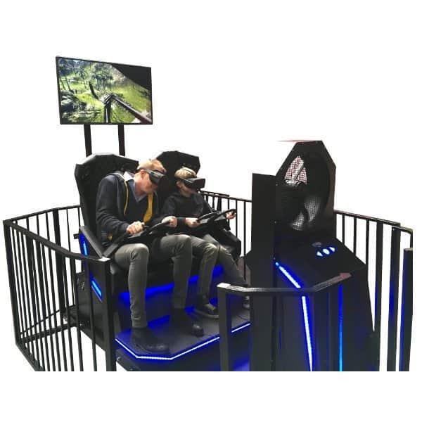 VR Achterbahn Simulator mieten