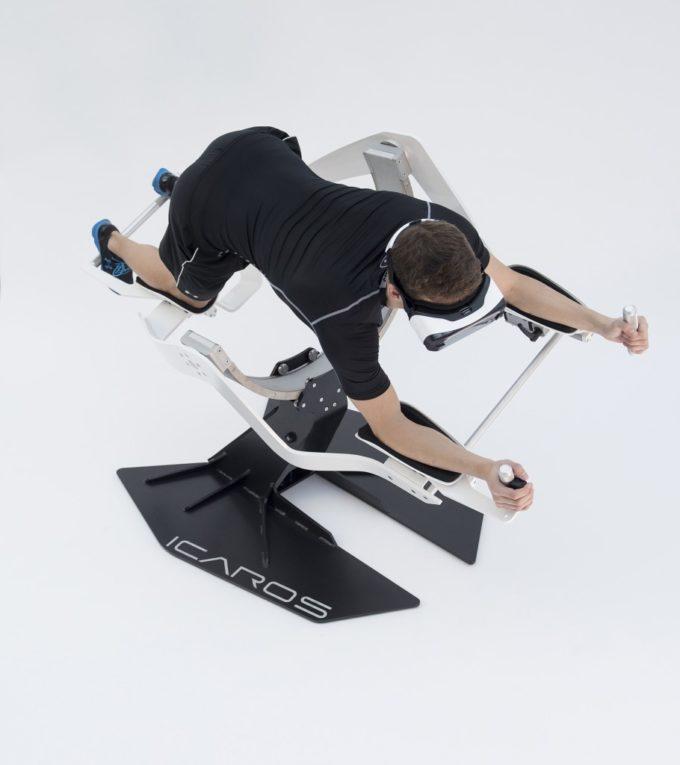 Fitness mit dem Icaros VR Flugsimulator